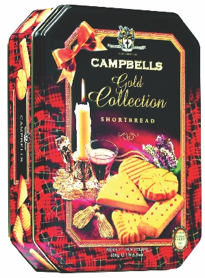 Bánh Campbells Gold Collection Shortbread 600Gr
