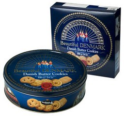 Bánh Danish Butter Cookies 680Gr