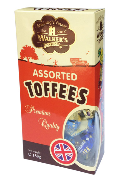 Kẹo Toffees Asstorted 150Gr